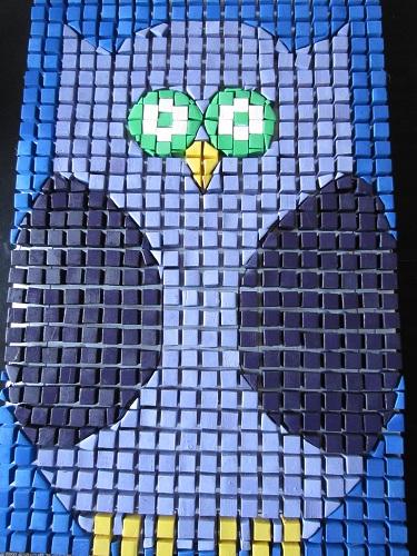 Owl-Mosaic