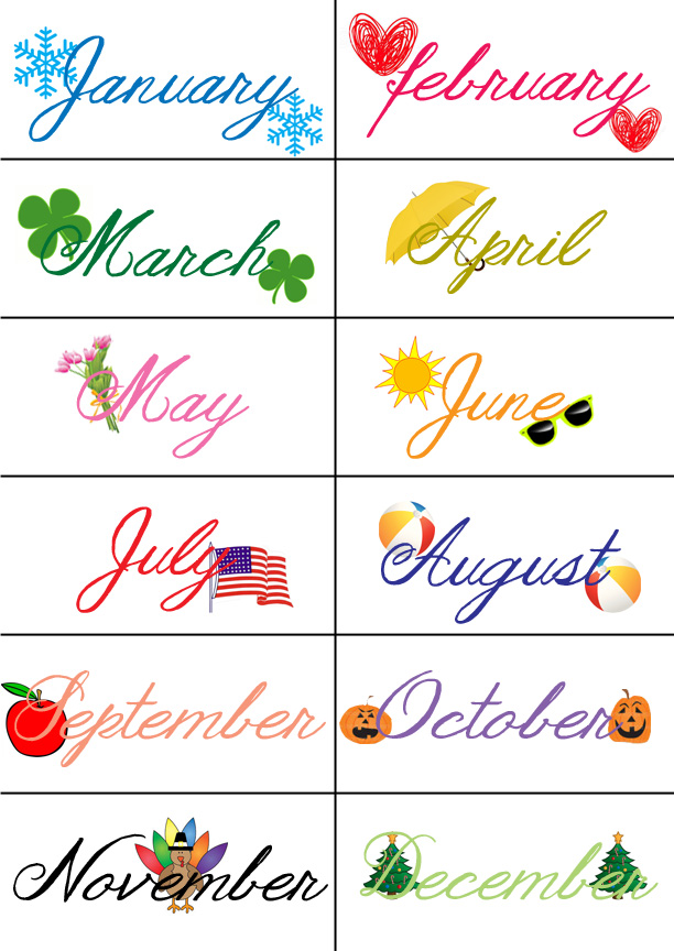 months of the year calendar printables t8718 frog month hds 3?6 ...
