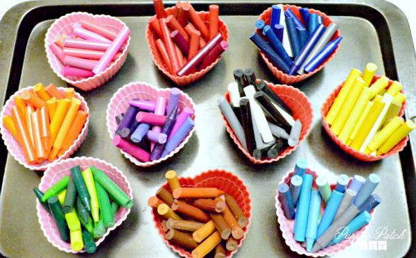 how to make DIY crayons