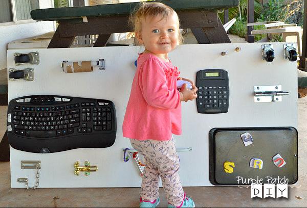 DIY Busy Board - The DIY Mama Blog